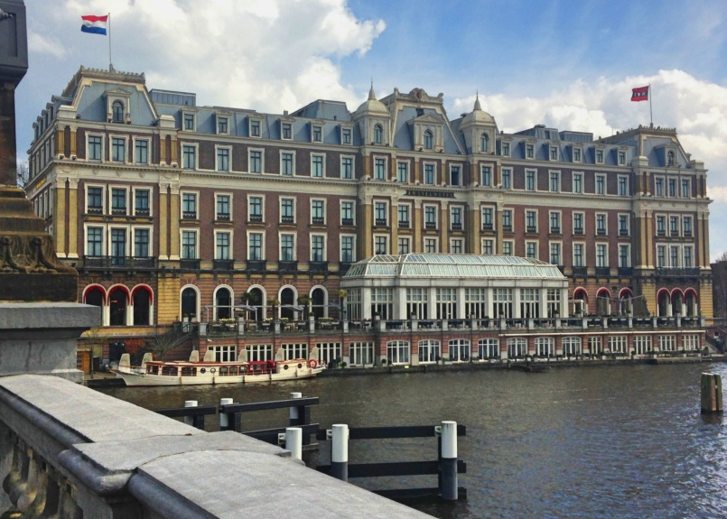 InterContinental Amstel, considered the prettiest hotel in town