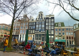 View from the Red Light District