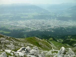 Innsbruck, from above